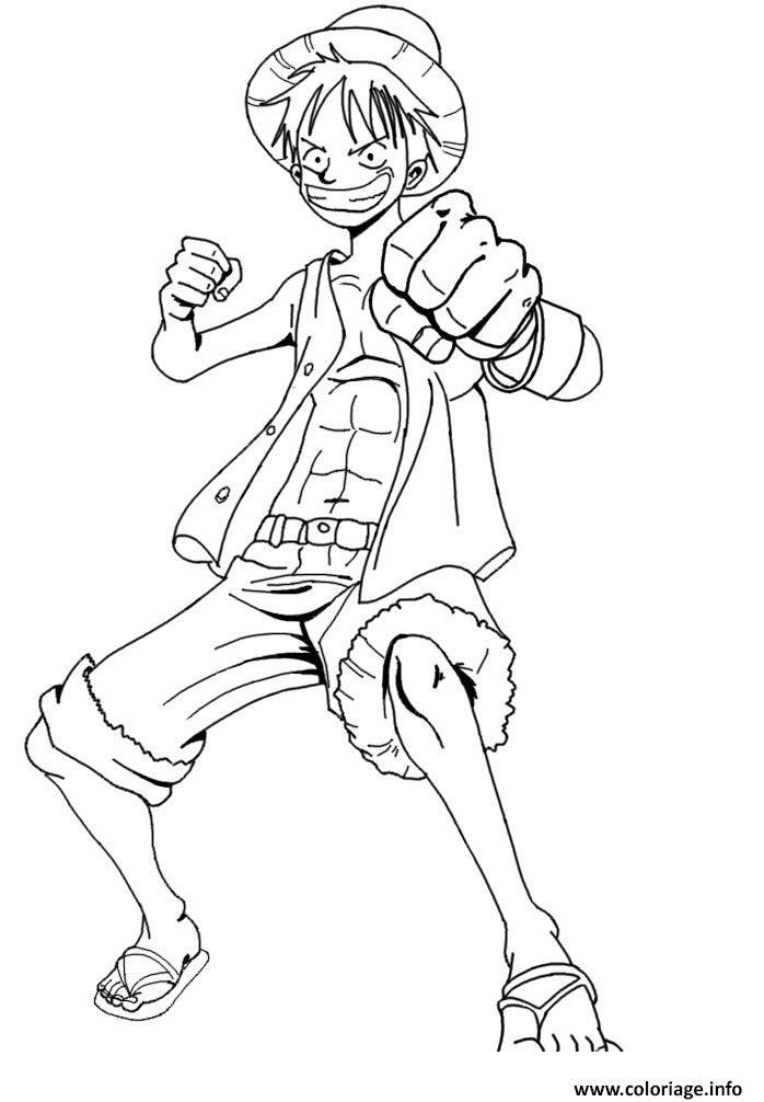 Coloriage Luffy 2 Onepiece Excite Jecoloriecom