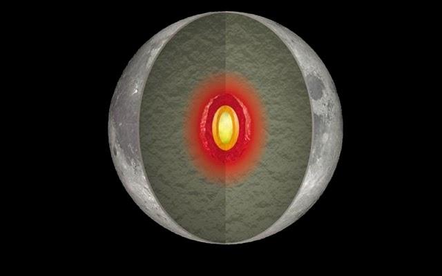¿Qué hay en el interior de la Luna?