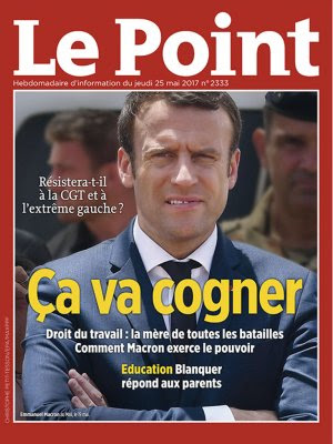 Couverture du Point N° 2333 du 25 mai 2017