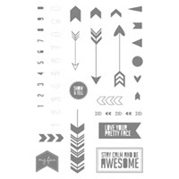 Show Tell 2 Photopolymer Stamp Set