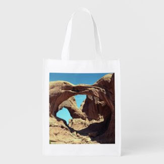 Double Arch Grocery Bag