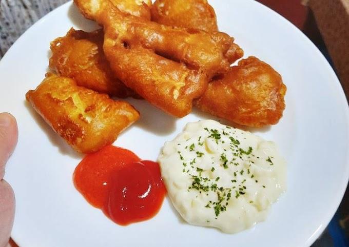 Resep Mudah Fish Chips (Ikan Dori) Paling Mudah