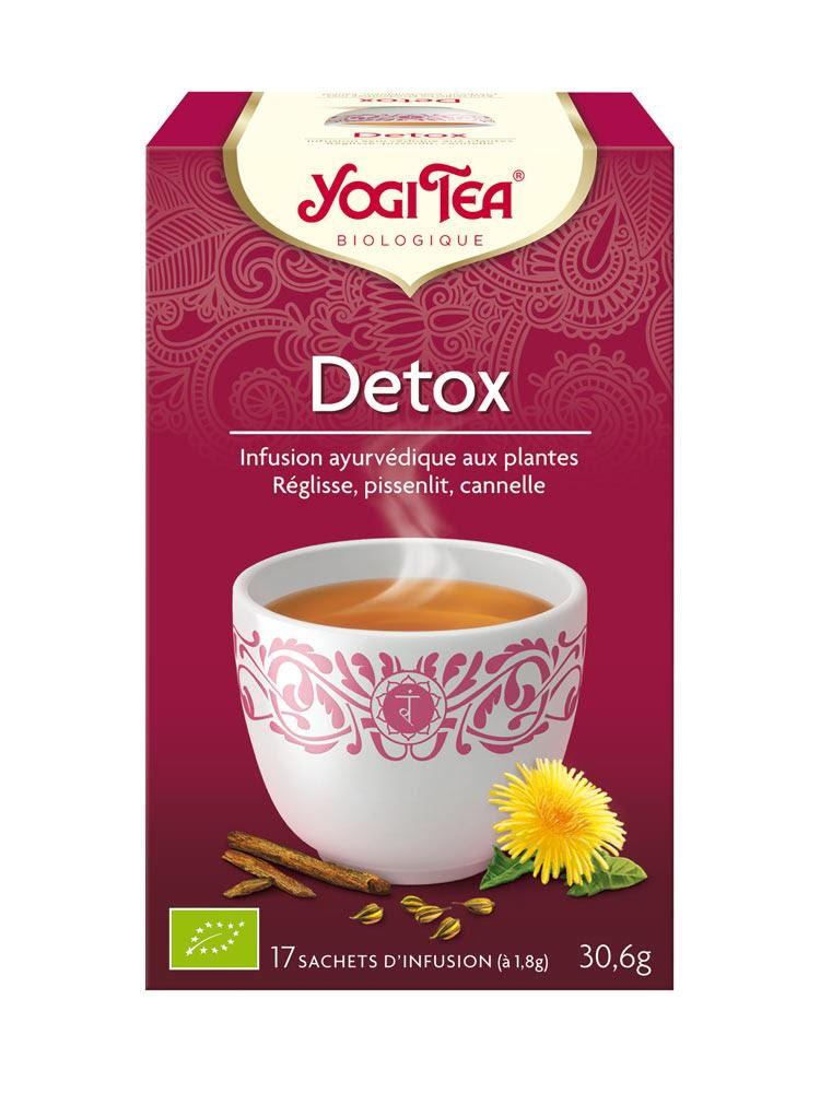 Yogi Tea Detox 17 Sachets | Buy at Low Price Here