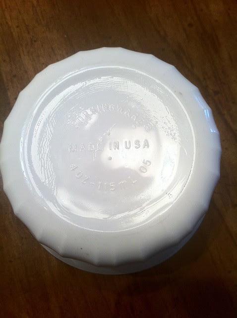 Corning Ware French White Pyroceram Product Stamp