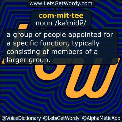 committee 08/30/2018 GFX Definition