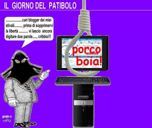 satira,sfoghi,decreto ammazza blog,berlusconi,governo,politica,attualità