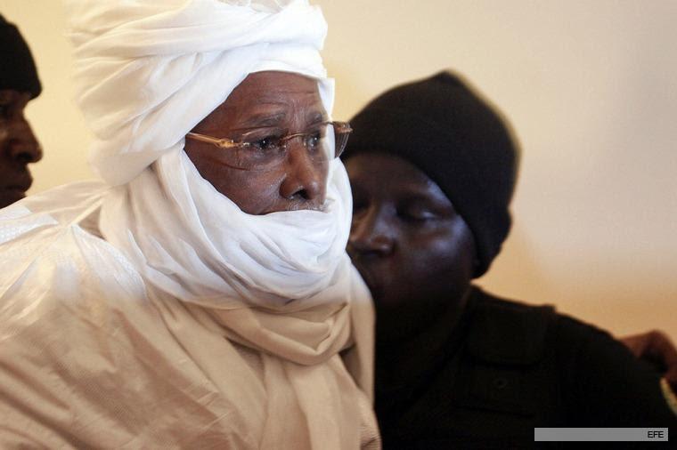 Hissène Habré: foto de archivo, julio 2015