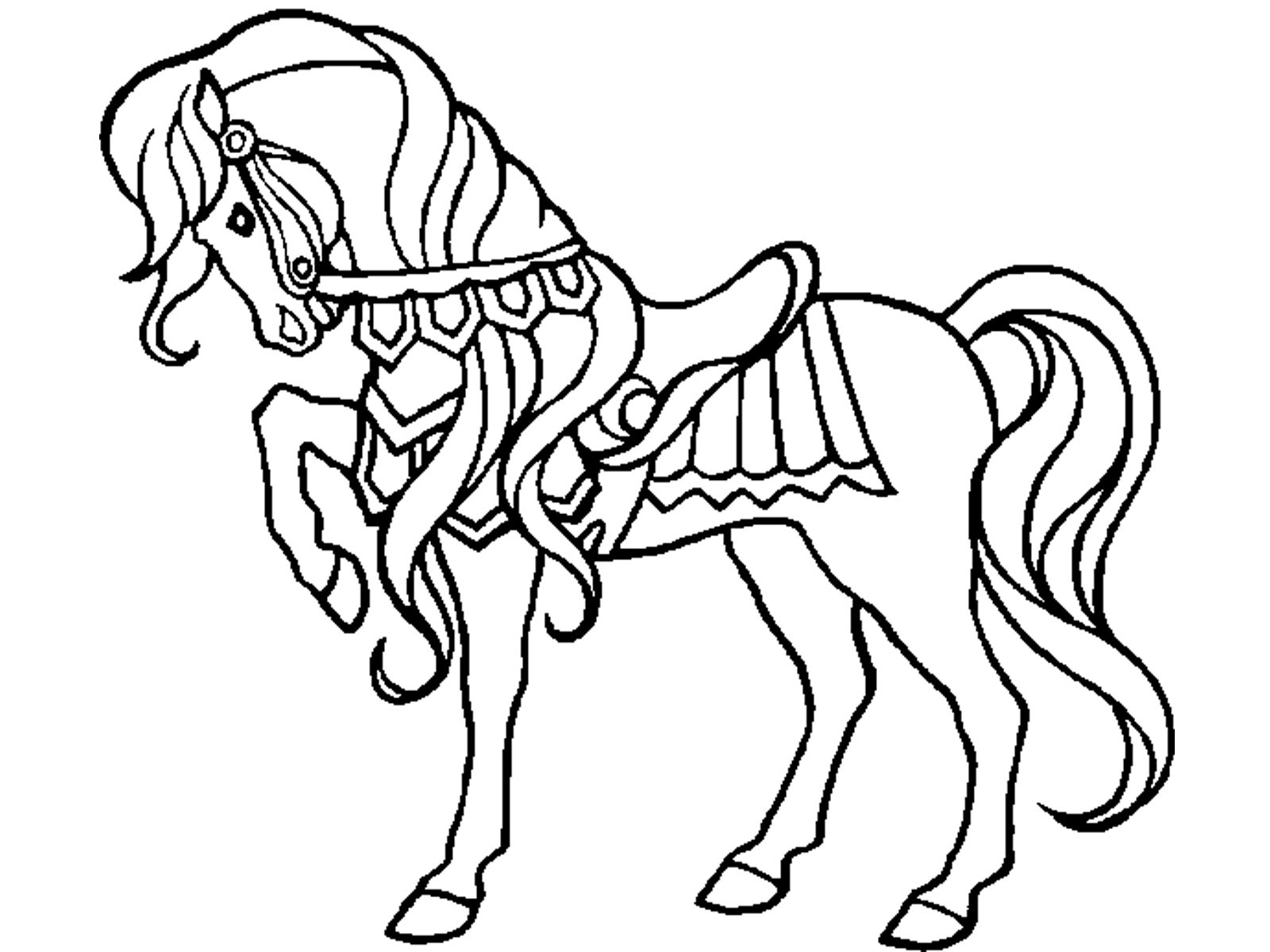 free-animals-horse-printable-coloring-pages-for ...