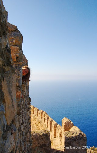 On top of Alanya Castle, Turkey