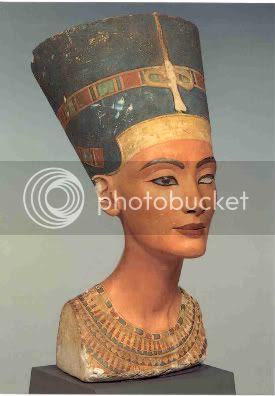 Queen Nefertiti Limestone Bust c.1348-1335 B.C.