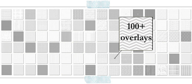 over 100 free digital overlays for making DIY printable papers (some commercial uses ok)
