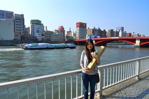Yuiko with Himiko Waterbus