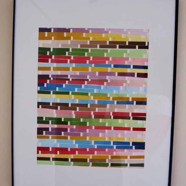 Paint swatch crafts