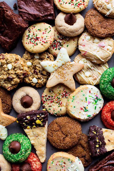 fun  festive christmas cookies sallys baking