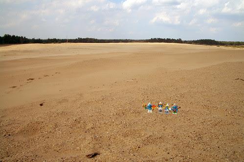 parco Naturale Hoge Veluwe... e qui comincia il deserto vero hihihi