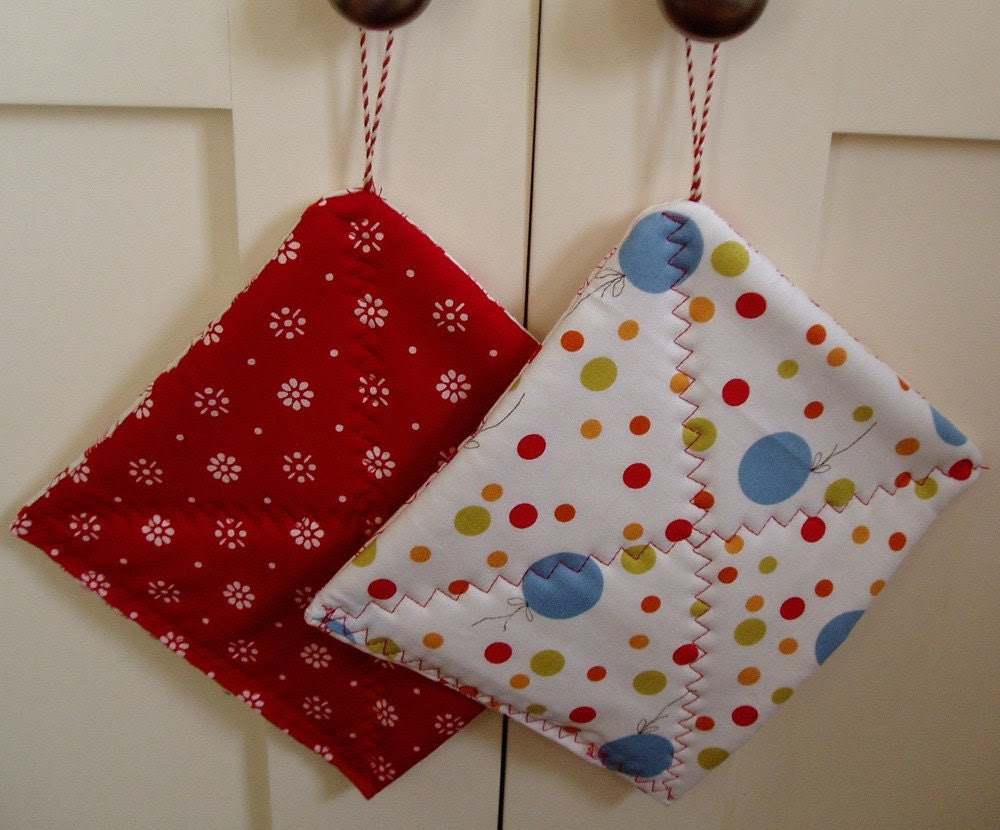 Reserved for Write It Out Project - Whimsical Pot Holders - a Pair