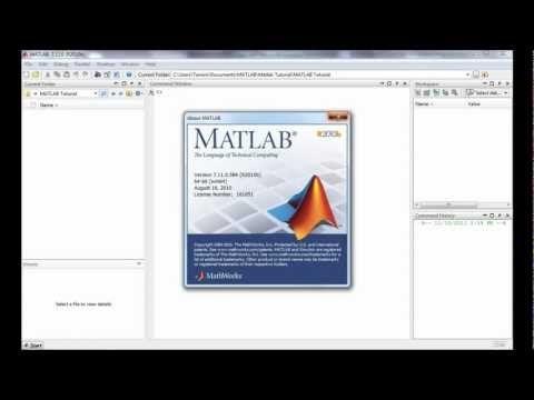MATLAB tutorial for beginners
