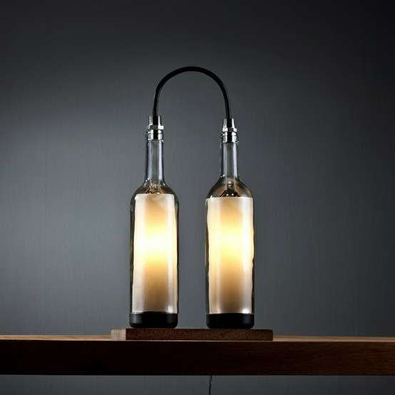 Wine Bottle Lamp Series  3