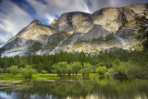 Half Dome Impressions #1 - Mirror Lake, Yosemite National Park, California por PatrickSmithPhotography