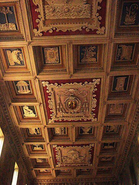 Arkiv: Celio - Santa Maria i Domnica soffitto 01539.JPG
