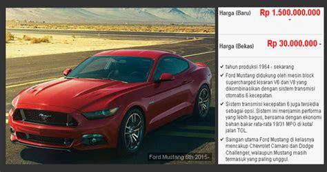 review harga mobil  jutaan bandel  bagus