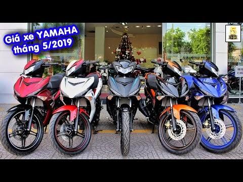 Báo Thời Đại: Thông tin bảng giá xe máy Yamaha mới nhất tháng 5/2019