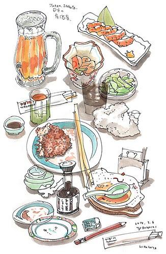 Japaneas IZAKAYA by yamasakki