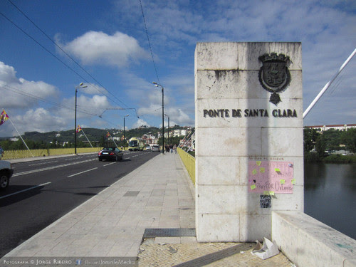 Ponte de Santa Clara em Coimbra #PrayForOrlando Santa Clara Bridge