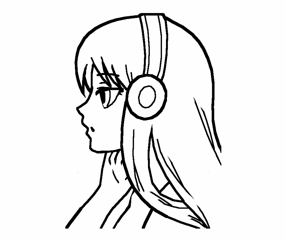 Free Anime Drawings Black And White Download Free Clip Art Free Clip Art On Clipart Library