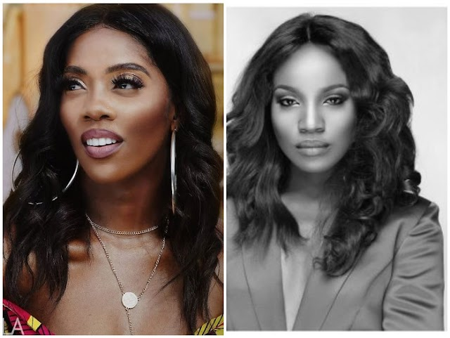 No More Angry Bird: Seyi Shay, Tiwa Savage Reconcile After Their Dirty Fight