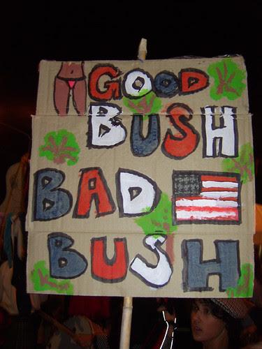 bush at the NFF