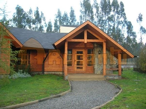 Casas de madera prefabricadas casas prefabricadas rucantu for Disenos y planos de casas prefabricadas
