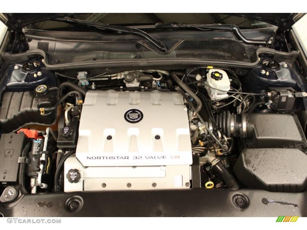 2003 Cadillac DeVille DHS 4.6 Liter DOHC 32V Northstar V8 ...