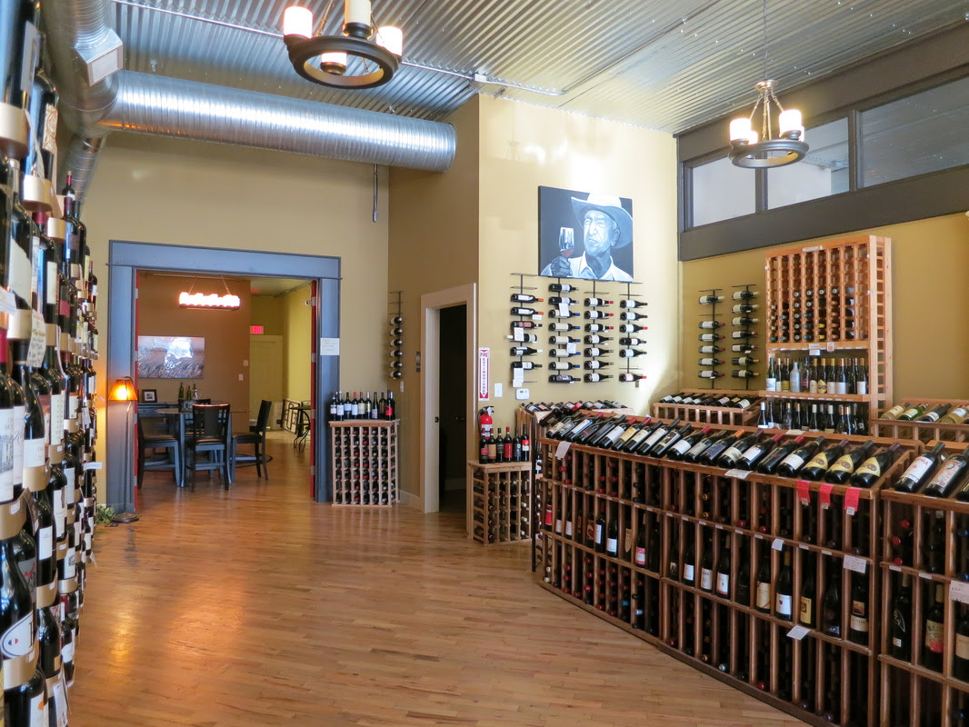 Red Door Wine Store Home