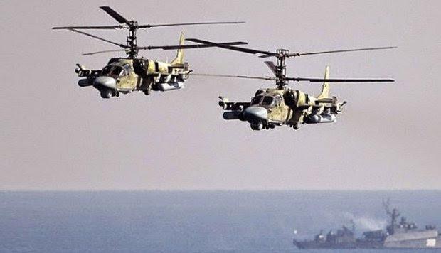 Mengenal Helikopter Versi Marinir Rusia, Ka-52 Katran