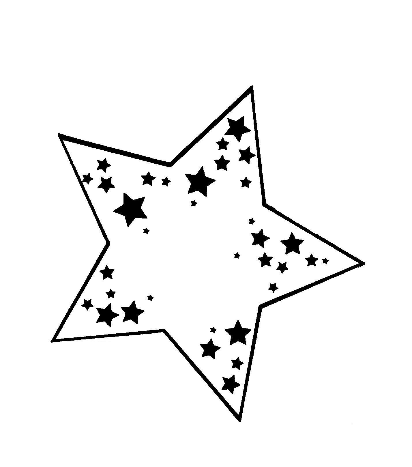 Patron étoile A Imprimer Afraidjellylive