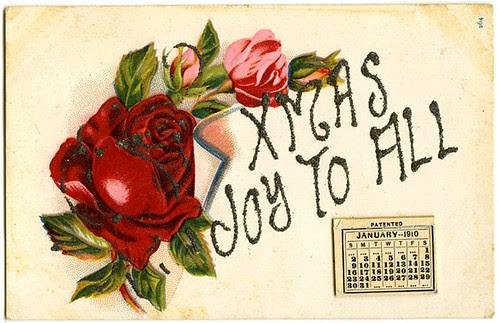 calendar postcard 1919_tatteredandlost