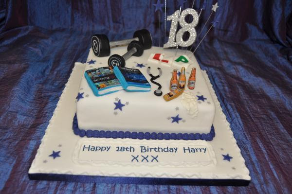 Tremendous 18Th Birthday Cake Designs For Boys Personalised Birthday Cards Paralily Jamesorg