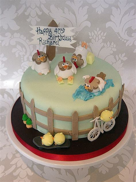 Super cute Chicken Themed Cakes