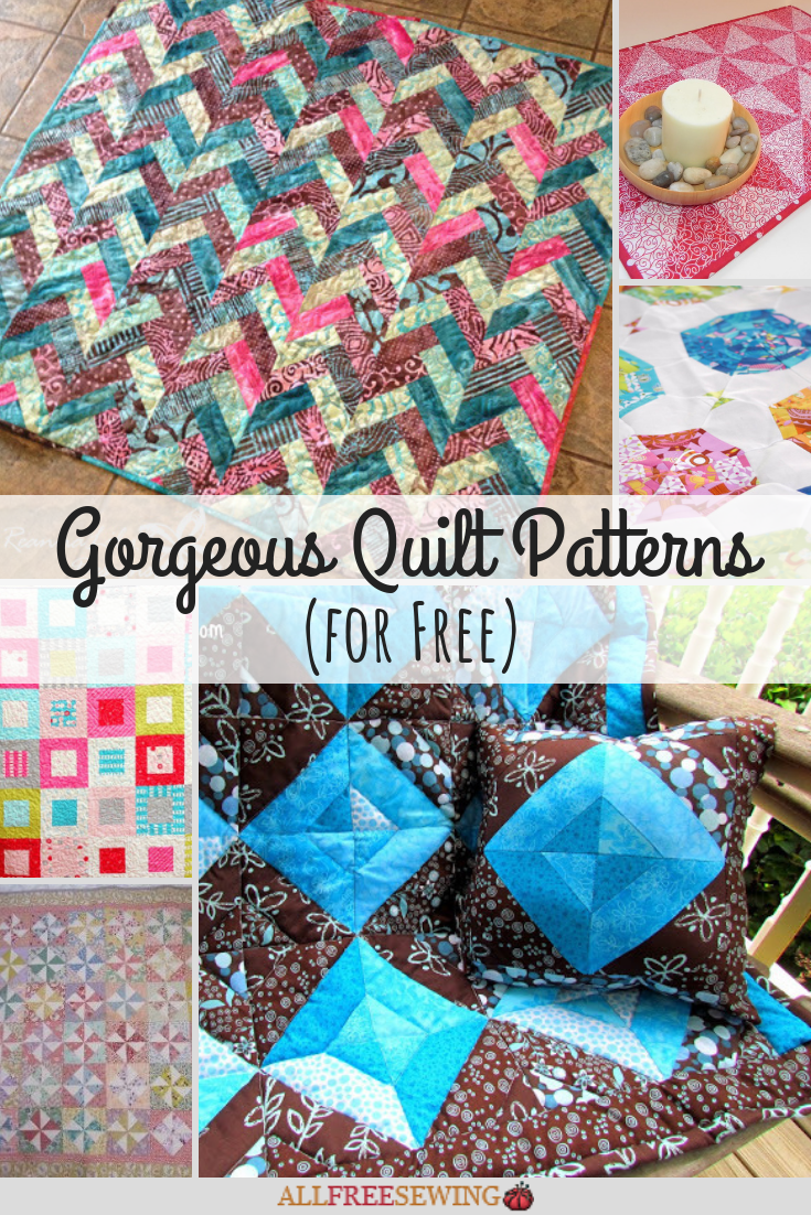 25+ Gorgeous Quilt Patterns (for Free)  AllFreeSewing.com