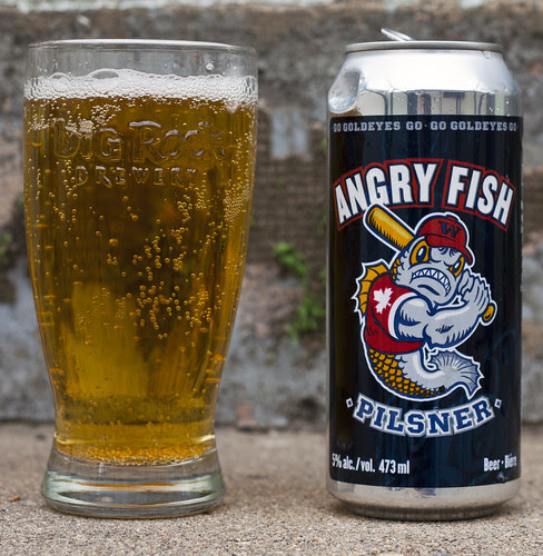 Review: Fort Garry Angry Fish Pilsner by Cody La Bière