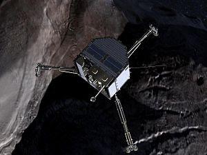 Philae over a comet (crop).jpg