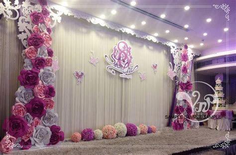 20pcs 30cm Custom Made Foam Paper Flower For Wedding Party