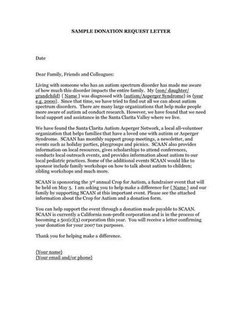 donation request letter sample donation request letters