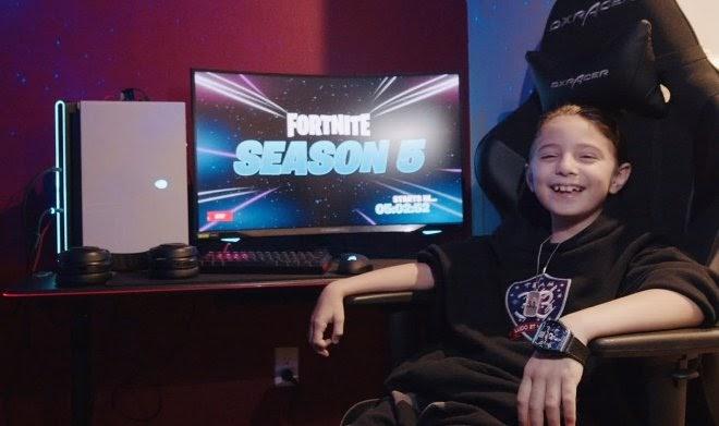Восьмилетний Джозеф Дин стал про-геймером в Fortnite и получил первые $33000