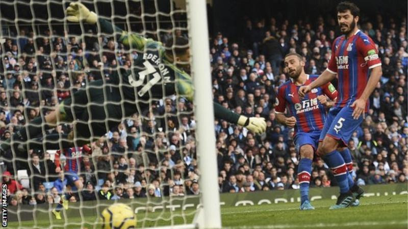 Crystal Palace Stun Man City With 2-2 Draw At Etihad ...