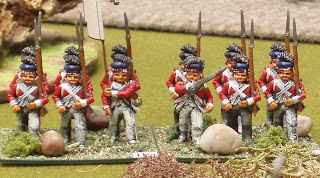 71st (Frasers) Foot in their campaign uniform - Minifgs 25mm