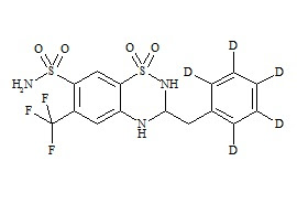 Bendroflumethiazide-d5