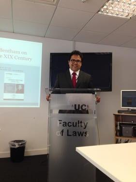 Gonzalo Ramírez at UCL