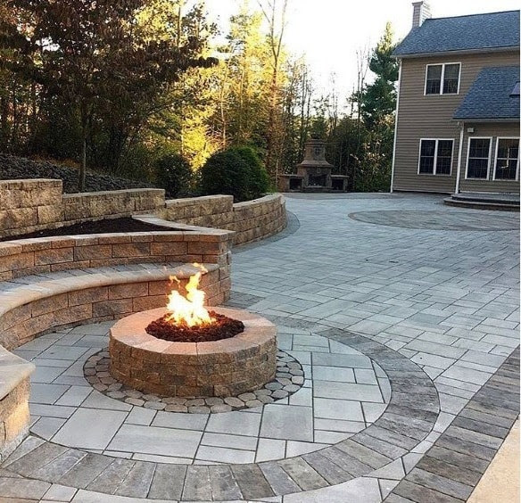 Top 60 Best Fire Pit Ideas Heated Backyard Retreat Designs